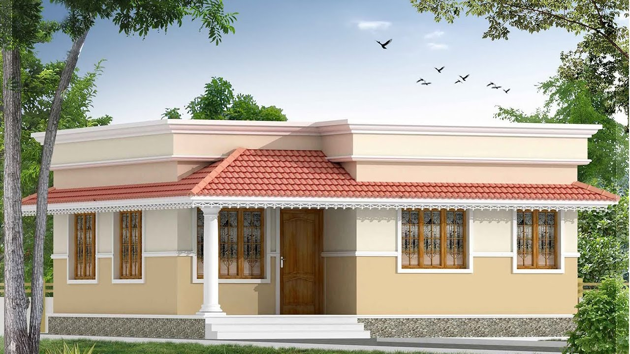 House plans in kerala below 10 lakhs escortsea for Beautiful kerala house plans