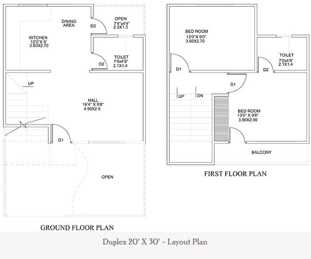 20 Feet By 30 Feet Home Plan Everyone Will Like Acha Homes