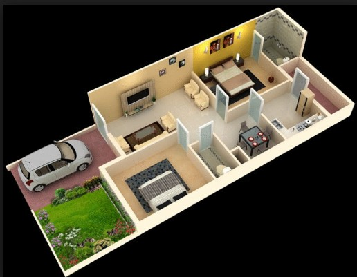 1000 Square Feet Modern Home Plan Everyone Will Like