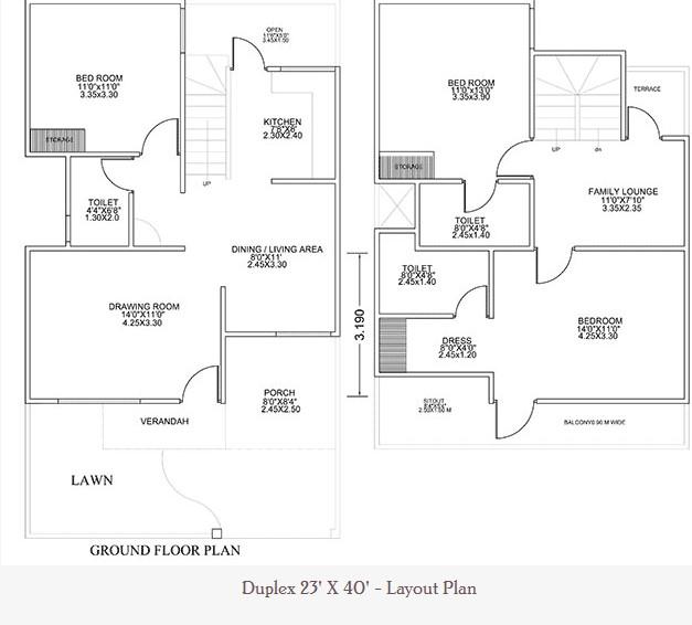 23 Feet By 40 Feet Home Plan Everyone Will Like Acha Homes