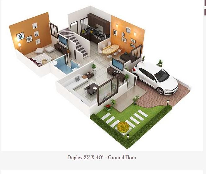 23 feet by 40 feet Home Plan Everyone Will Like | Acha Homes