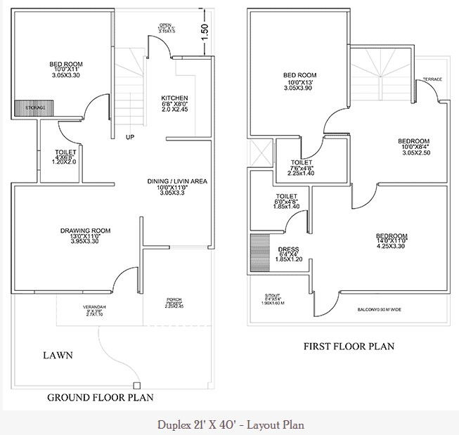 21 Feet By 40 Feet Home Plan Everyone Will Like Acha Homes