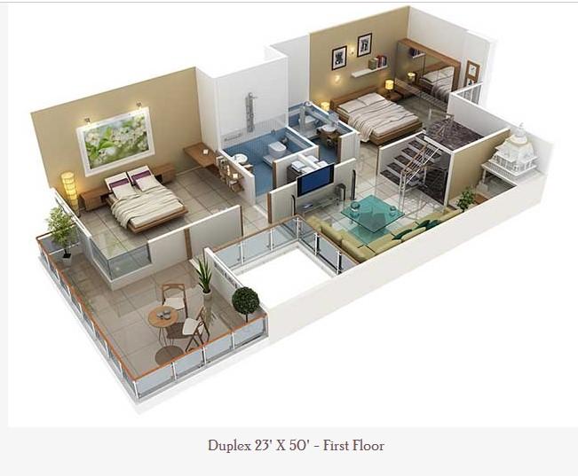 23 Feet By 50 Feet Home Plan Everyone Will Like Acha Homes