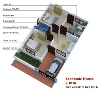 20×30 Home Plan Everyone Will Like | Acha Homes on bedroom designs, vinyl flooring designs, economy housing designs, economic art, economic services, economic living room design, economic landscapes designs, cool small house designs, prefabricated house plans designs, small farm house designs, economic home maps, economic project ideas, economic books,