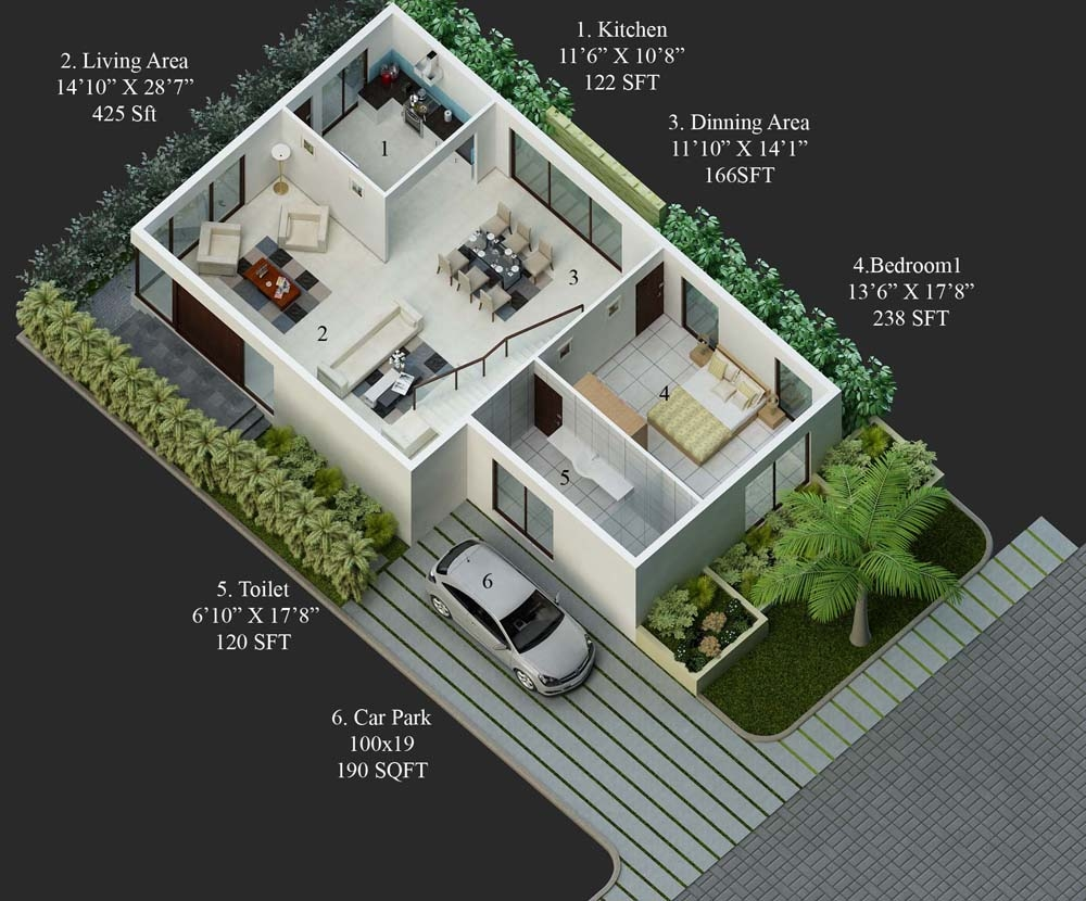 30 Feet By 40 North Facing Home Plan Everyone Will Like