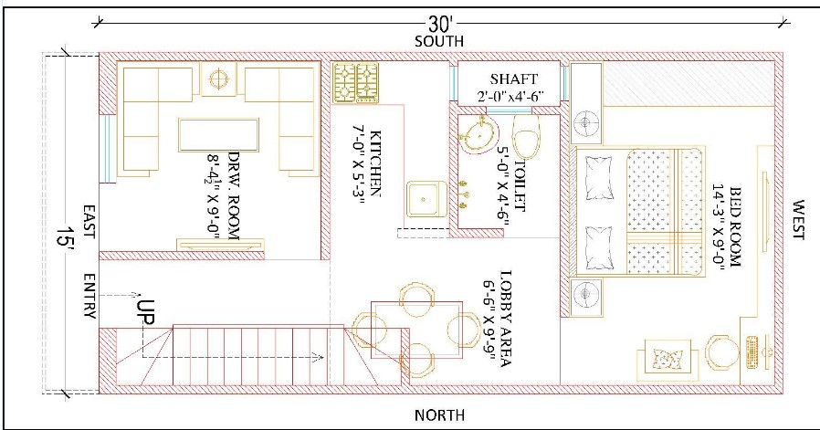 15 feet by 30 feet Beautiful Home Plan Everyone Will Like