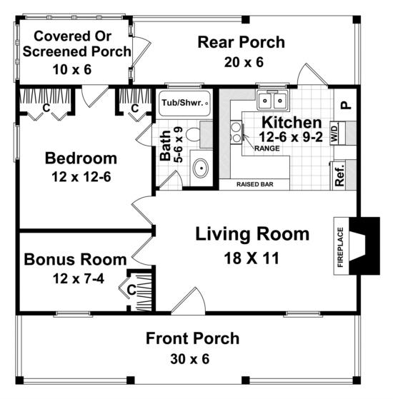 600 Square Feet House Plan Acha Homes