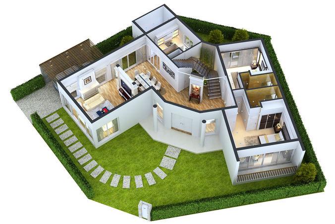 Modern Home 3D Floor Plans Everyone Will Like | Acha Homes