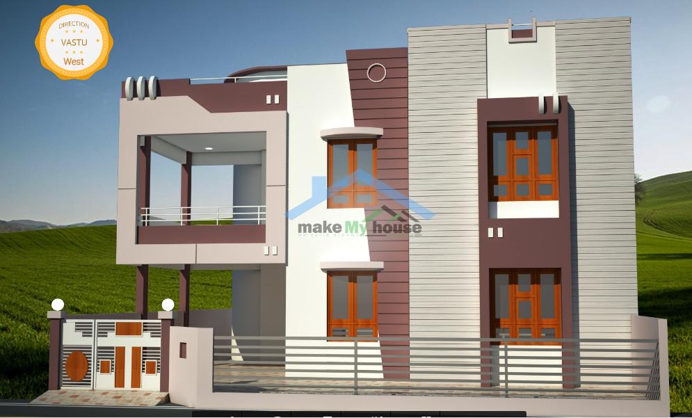 40 feet by 60 duplex home plan