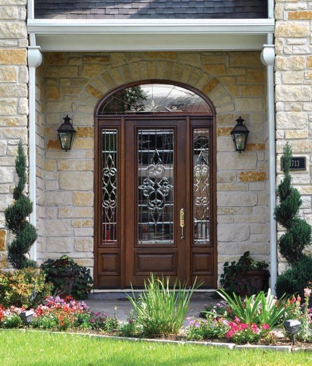 Single Front Door Designs Ideas | Acha Homes
