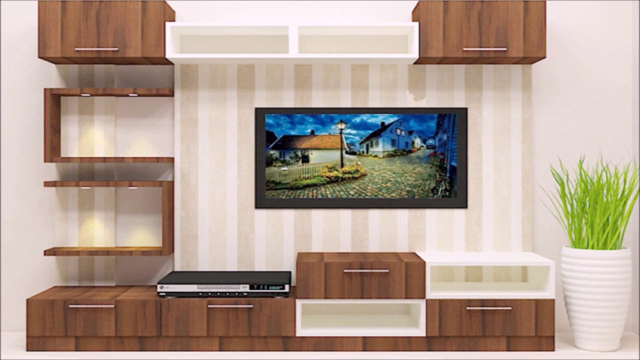 Best Of Tv Unit Design Ideas Living Room India Pictures