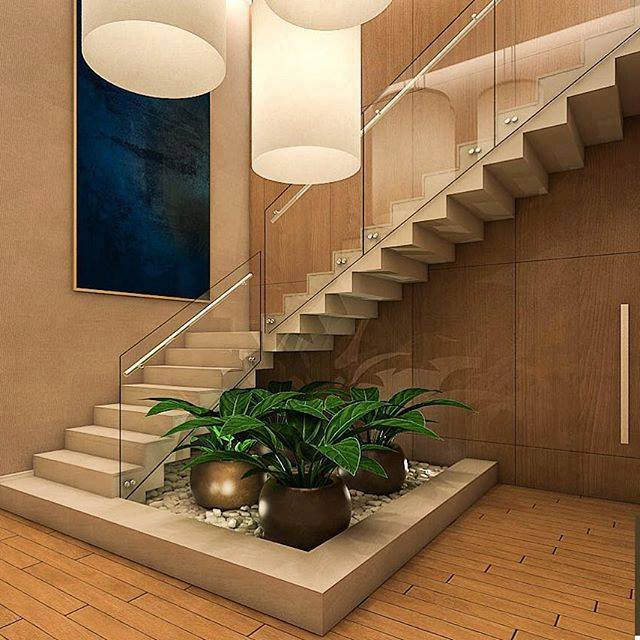 Home Garden Design Ideas India: Stairs Design For India House