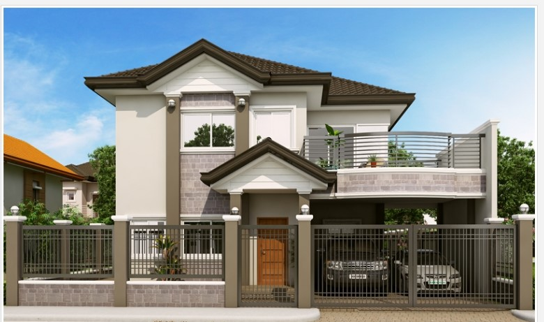 2200 Square Feet Four Bedroom Beautiful And Stylish Home Design Acha Homes