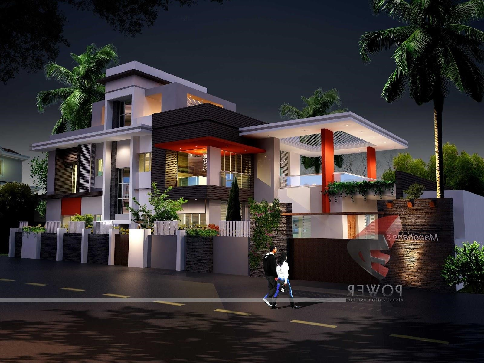 Modern Home Exterior Design Ideas 2017: Ultra Modern House Plans