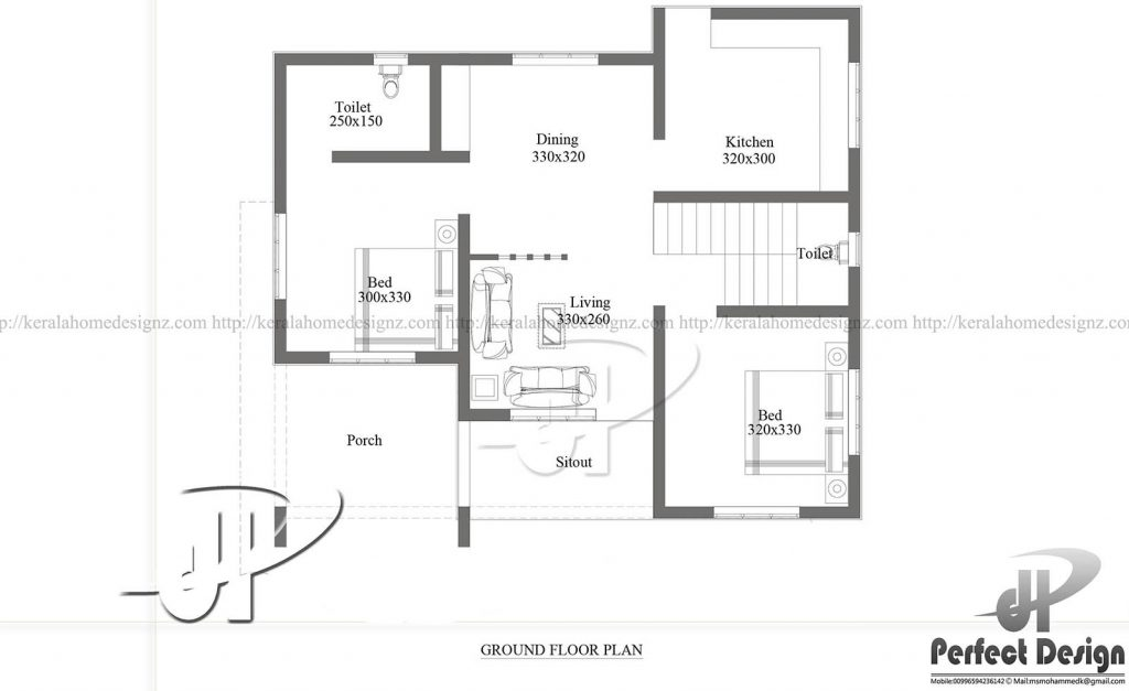 Low Cost House Plans With Estimate: ₹10 Lakhs Cost Estimated Modern Home Plan Everyone Will