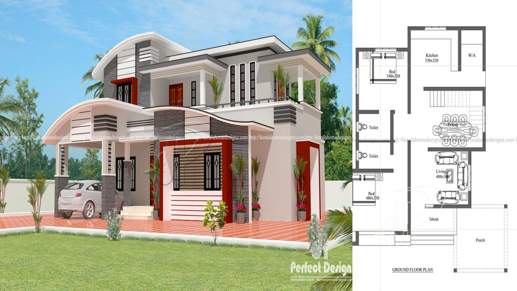 4 bedroom contemporary residence everyone will like for Copying house plans