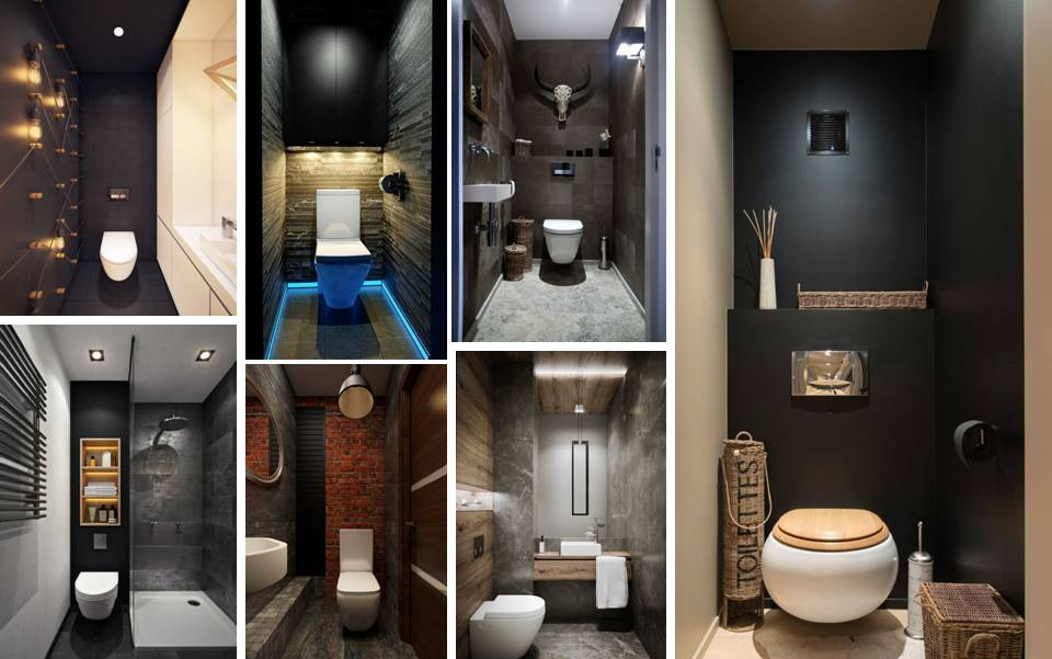 Best Modern Small Bathrooms And Functional Toilet Design