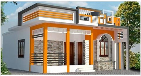 Best Architectural Designs Kerala Home Plan With Two Bedrooms Design For Small Houses,Living Room Light Blue Green Wall Paint