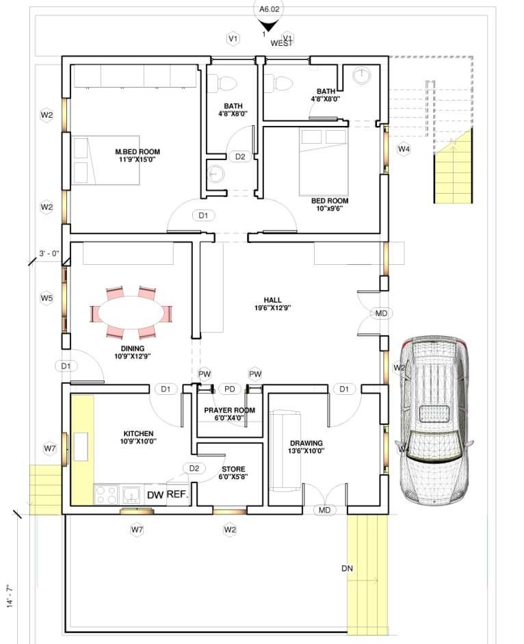 East Facing Vastu Home 40x60 Everyone Will Like Acha Homes
