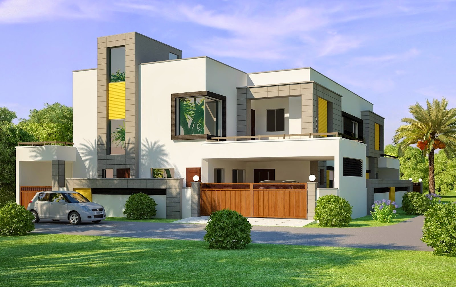 Indian style inspired house design everyone will like for Different home designs