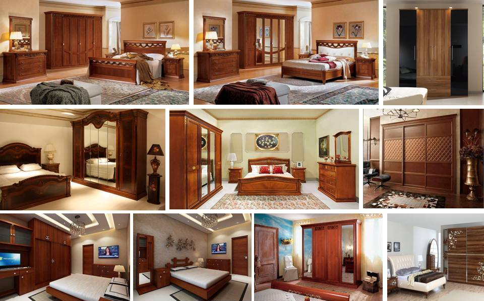 Top 5 Latest Bedroom Furniture Wardrobes Bed Cupboard