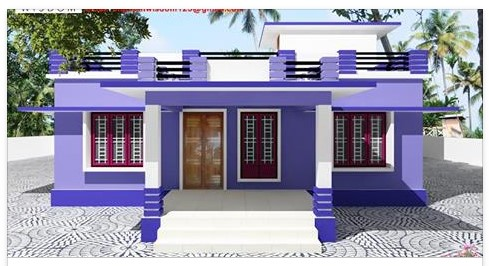 1250 square feet modern house plan with 3 bedrooms homes for 1250 square feet house