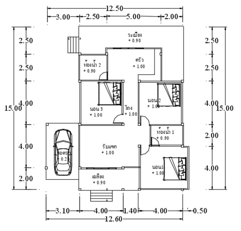 Elevated Small House Design India, Gorgeous Elevated House Concepts