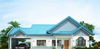 The Blue House Design With 3 Bedrooms In Philippense