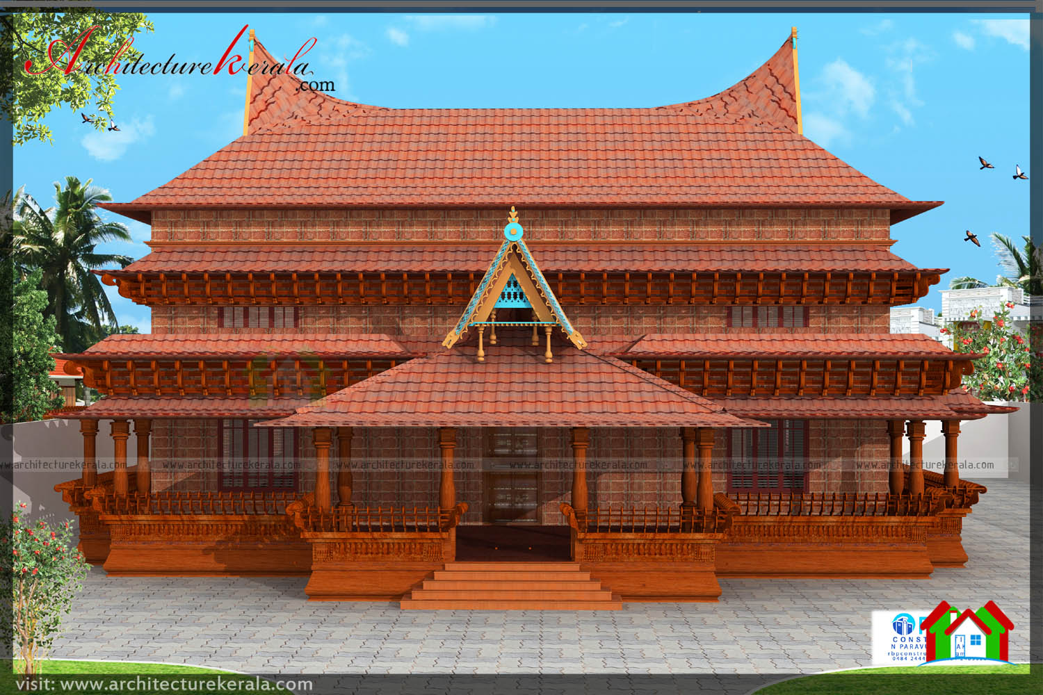 Traditional kerala style house plan you will love it for Traditional house plans in india