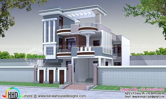 Beautiful home design plot for 30x60 everyone will like for Attractive house designs