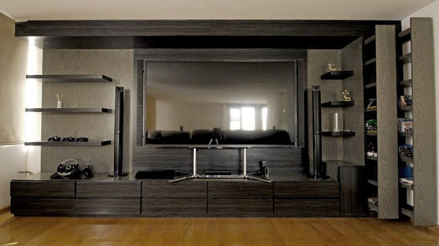 You Can Also Do By Incorporating The TV With Great Looking Entertainment  Console Or Chest Which Highlights Your Design And Style.