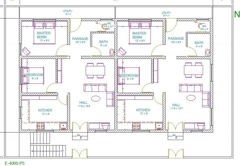 40 Feet By 60 Vastu Home Plans Must See This