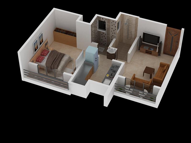 1 Bhk Flat For Sale Below 37 Lakh In Mumbai Acha Homes