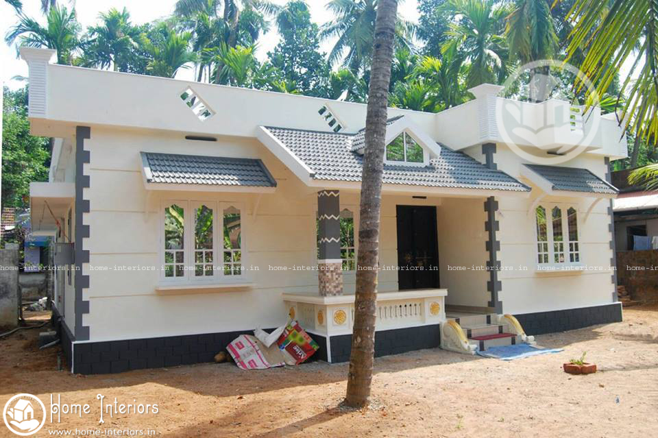 1187 Square Feet Kerala Style Home Design With Plan With 3 Bedrooms Acha Homes