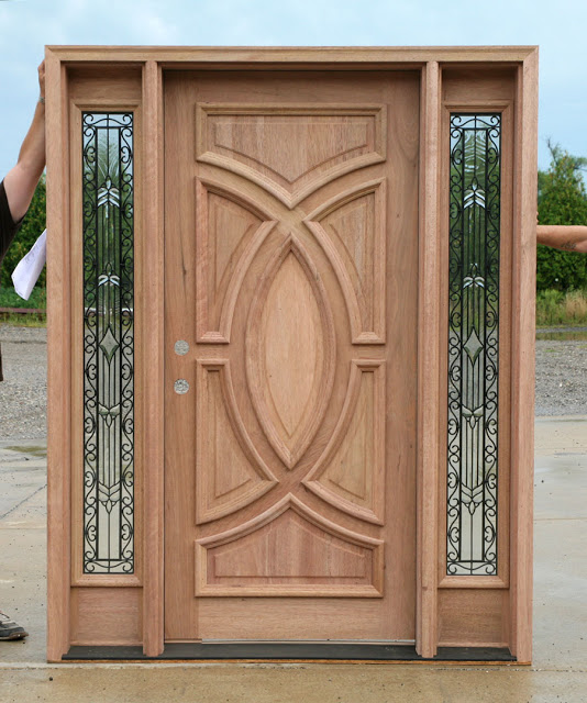Wooden main doors design for home everyone will like for French main door designs