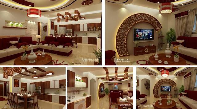 Fantastic modern apartment celebrates the look of natural wood