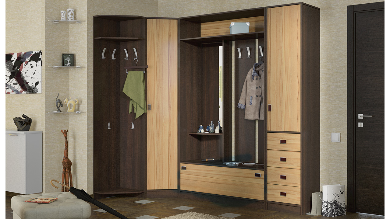 Top 30 Custom Corner Wardrobe Designs Ideas  Acha Homes