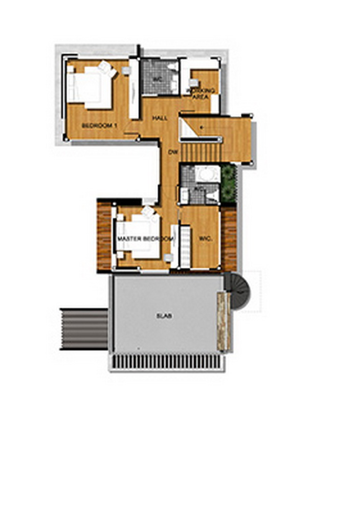 Double story stylish house plan for 3600 square feet for 3600 sq ft house plans