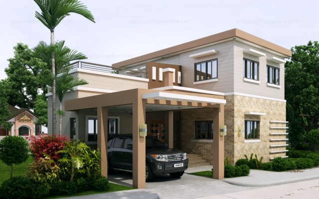 Double Story With Four Bedrooms House Plan Everyone Will Like