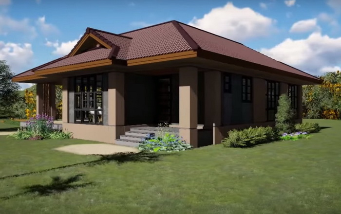 Small House Plan For 114 Square Meters With 3 Bedrooms Acha Homes