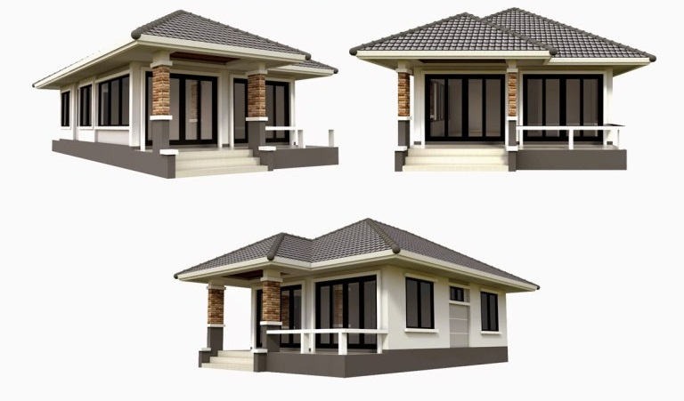 Two Bedrooms Small House Plan Everyone Will Like   Acha Homes