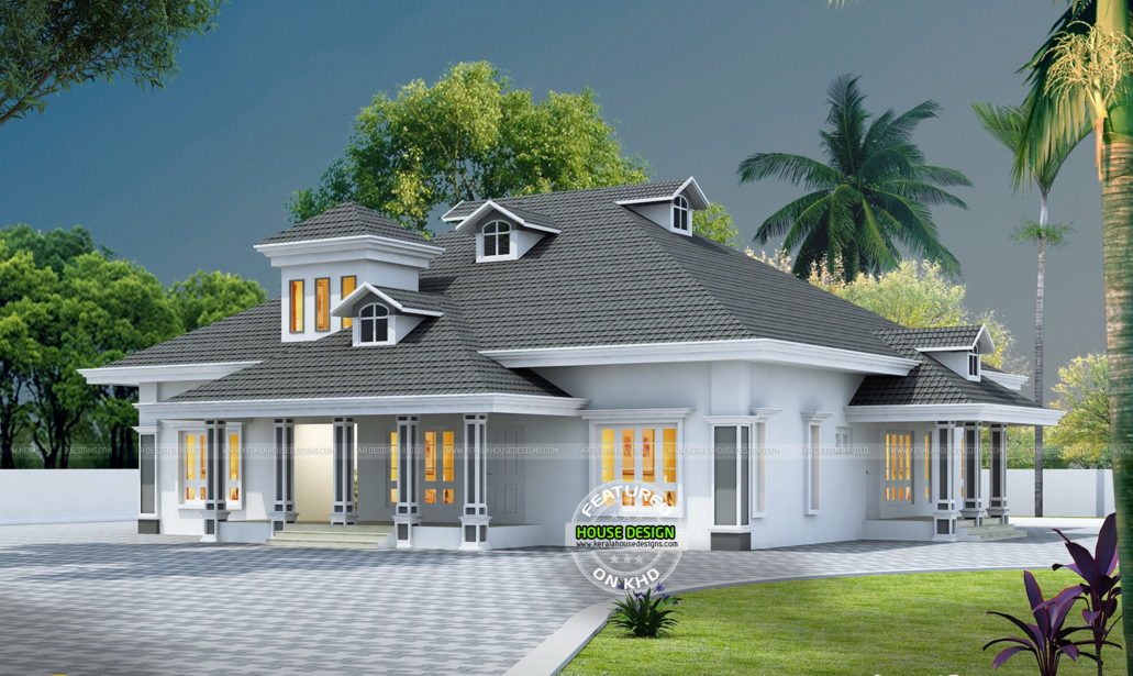 Wonderful Contemporary Inspired Kerala Home Design Plans 1