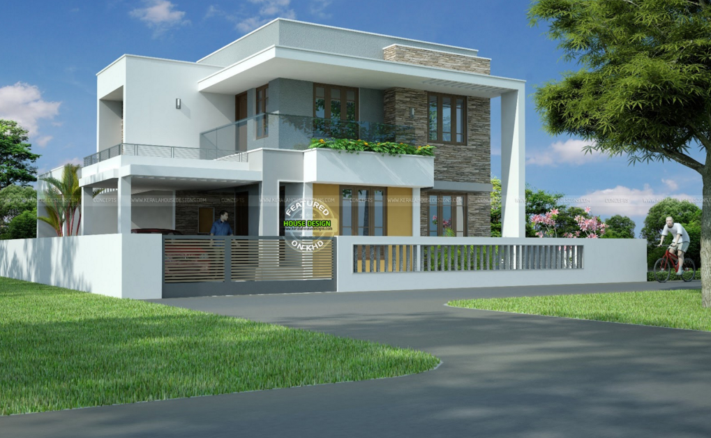 Best Contemporary Inspired Kerala Home Design Plans ...