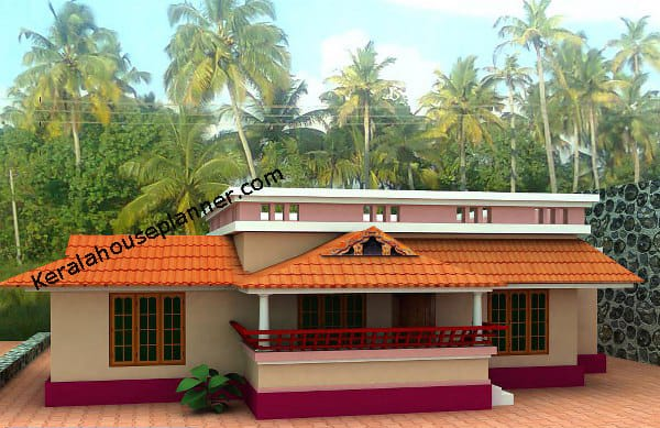 Small Kerala House Plans At 1000 Square Feet Everyone Will Like