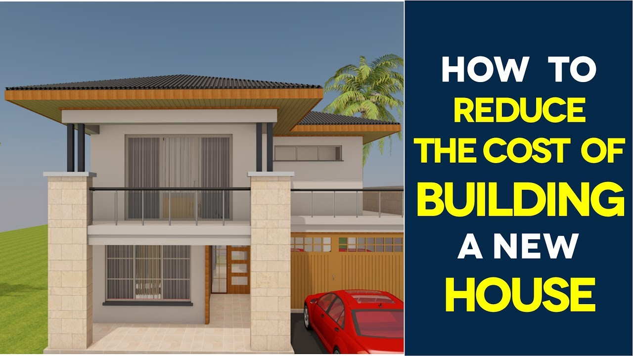 How to reduce construction cost in india 7 effective tips for Cost of new house construction