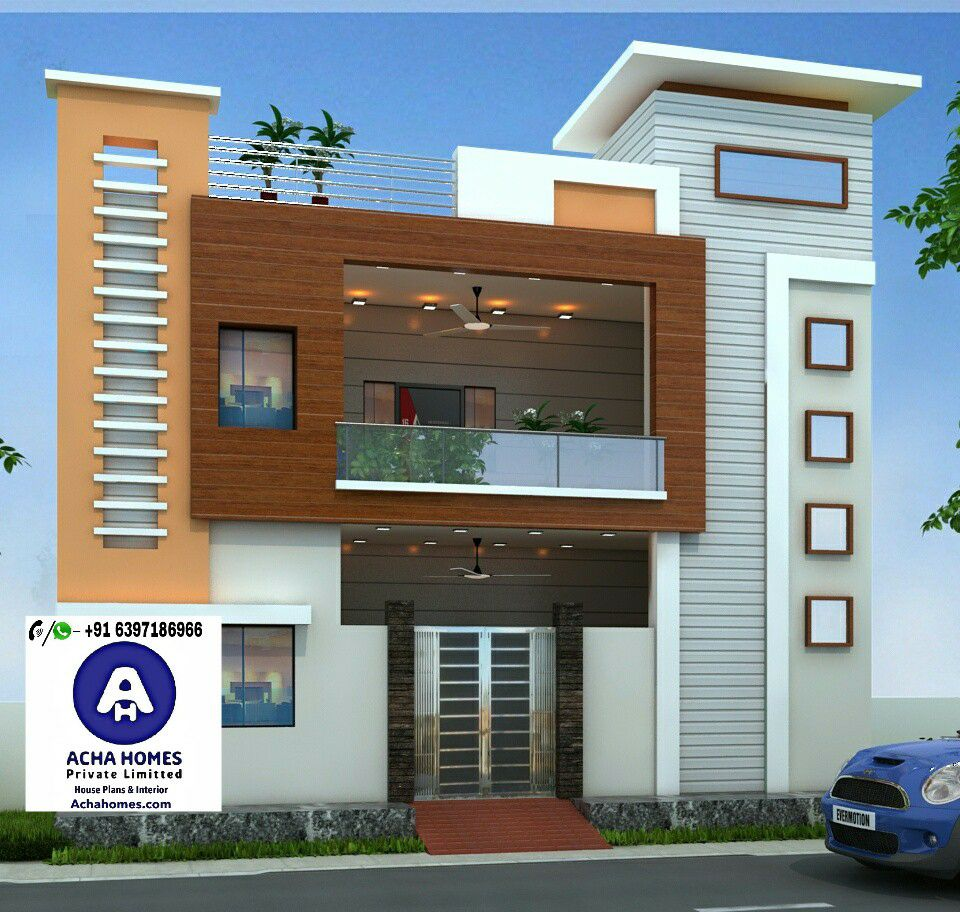 24 Feet By 40 Modern Home Design With 2 Bedrooms