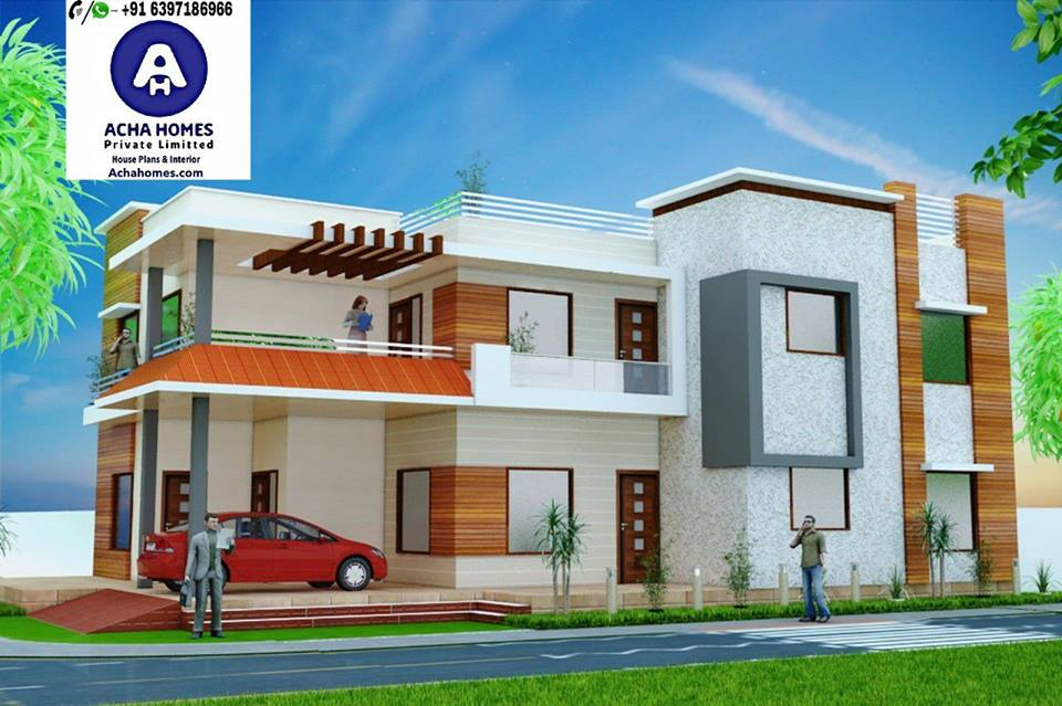 30 Feet By 60 Double Floor House Plan With 4 Bedrooms