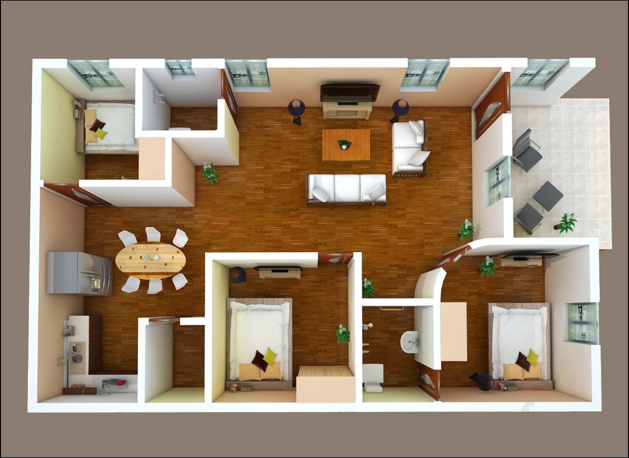 3D HOME PLAN BELOW 8 LAKHS