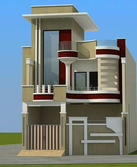 20 Feet By 50 Modern House Plan With 4 Bedrooms