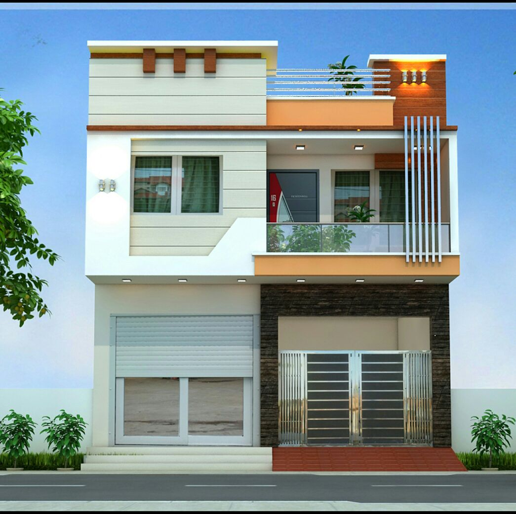 Modern Home Design For 31 Feet By 49 Feet Plot
